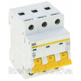 Автоматический выключатель ВА47-29 3Р 50А 4,5кА х-ка C IEK