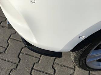 Бічні дифузори накладка заднього бампера тюнінг спідниця Opel Astra K OPC-Line