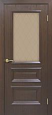 Двері Оміс Сан Марко 1.2 СС+КР. Полотно, ПВХ, скло бронза, фото 2