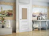 Двері Оміс Сан Марко 1.2 СС+КР. Полотно, ПВХ, скло бронза, фото 3