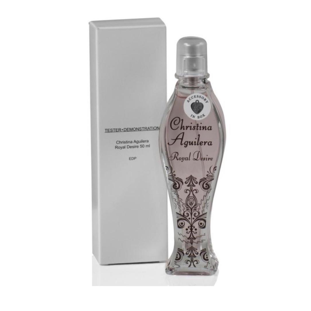 Женские духи парфюмированная вода CHRISTINA AGUILERA Royal Desire 50ml ТЕСТЕР, сладкий цветочный пудровый
