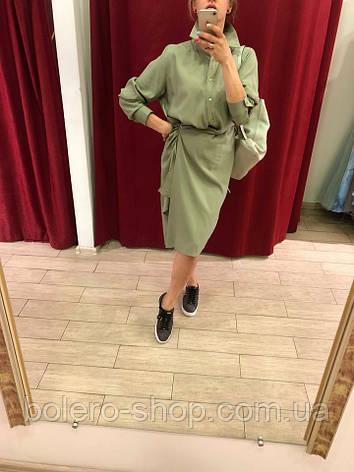 Женское платье Extyn  Италия оливковый, фото 2