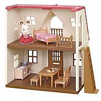 Игровой набор Сильваниан Фэмилис Домик шоколадного кролика Sylvanian Families Red Roof Cozy Cottage