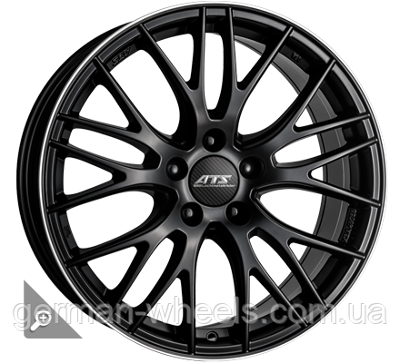 "Диски ATS (АТС) модель PERFEKTION цвет Racing-black lip polished параметры 9.5J x 19"" 5 x 112 ET 35"