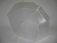 """Прозрачный зонт-трость 3D №W18 от фирмы """"SWEET DEW"""""""