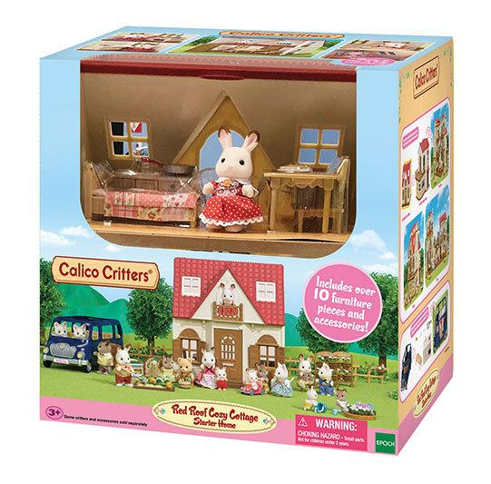 Игровой набор Calico Critters Red Roof Cozy Cottage