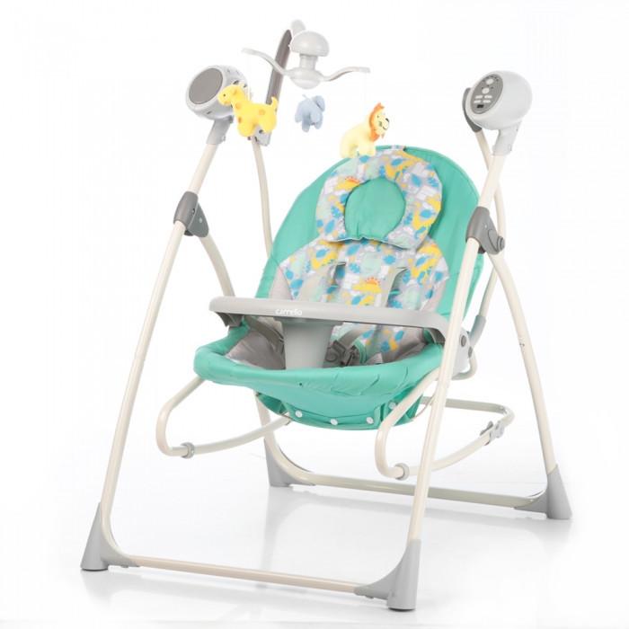 Кресло-качалка CARRELLO Nanny Green Dino