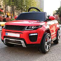 Детский электромобиль с пультом джип Land Rover T-7826 EVA RED