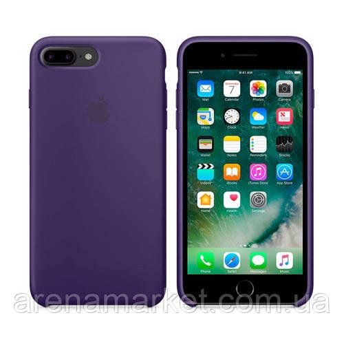 Чохол для iPhone 7/8 Plus Silicone Case (Найкраща копія Apple) - фіолетовий