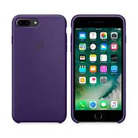 Чехол для iPhone 7/8 Plus Silicone Case (Лучшая копия Apple) - фиолетовый