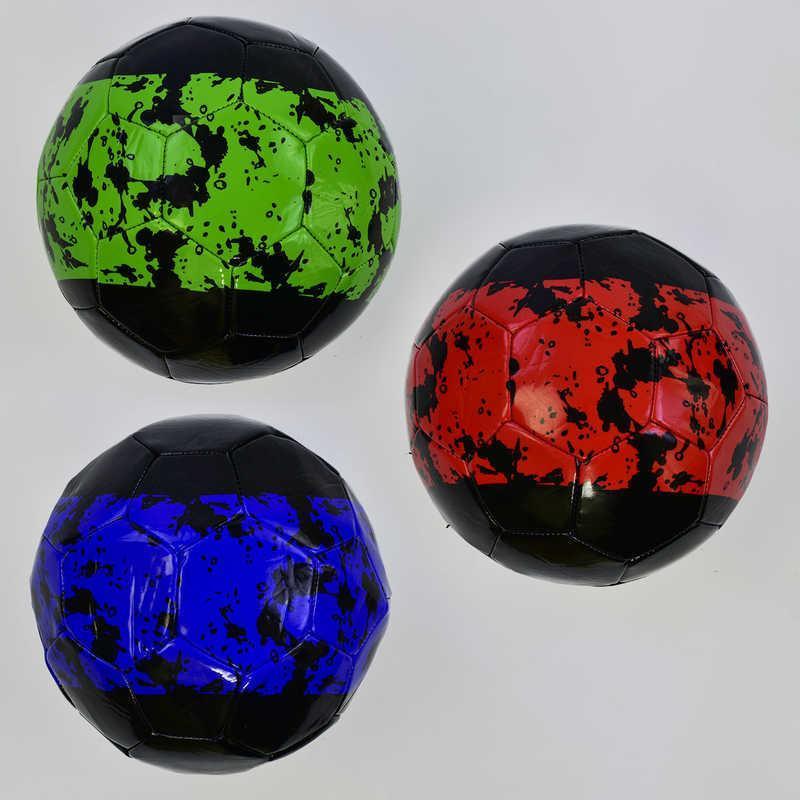 Мяч футбольный С 34392 (60) 3 цвета, 330 грамм, материал - мягкий PVC