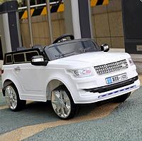 Детский электромобиль джип Land Rover T-7835 Белый