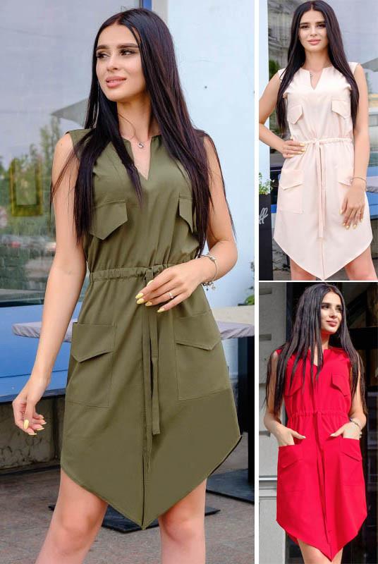 Стильное платье сарафан Рене софт