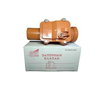 Обратный клапан для канализации пвх ду50  мпласт