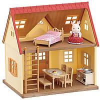 Игровой набор Уютный Домик шоколадного кролика Sylvanian Families Cosy Cottage Starter Home