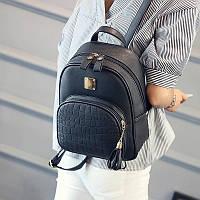 Женский рюкзак-сумка эко-кожа, городской (2 цвета)