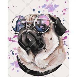 "Картина по номерам ""Задавака"" 4108 (собака, щенок)"