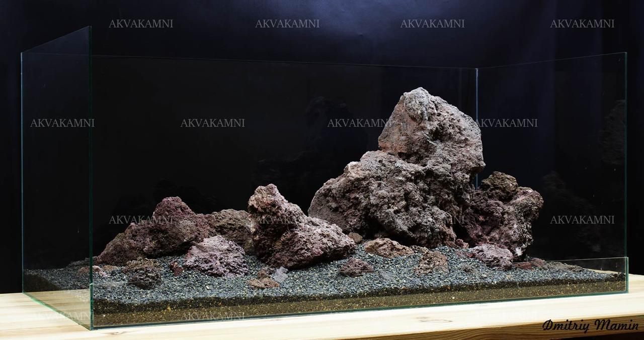 Композиция для аквариума из Лавы