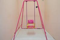Качели детские разборные на все сезоны  «Take&Ride baby swing  pink»
