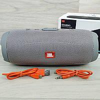 Портативная Bluetooth-колонка JBL Charge 3 Серая, фото 1