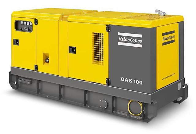 Дизельный генератор (электростанция) Atlas Copco QAS 100