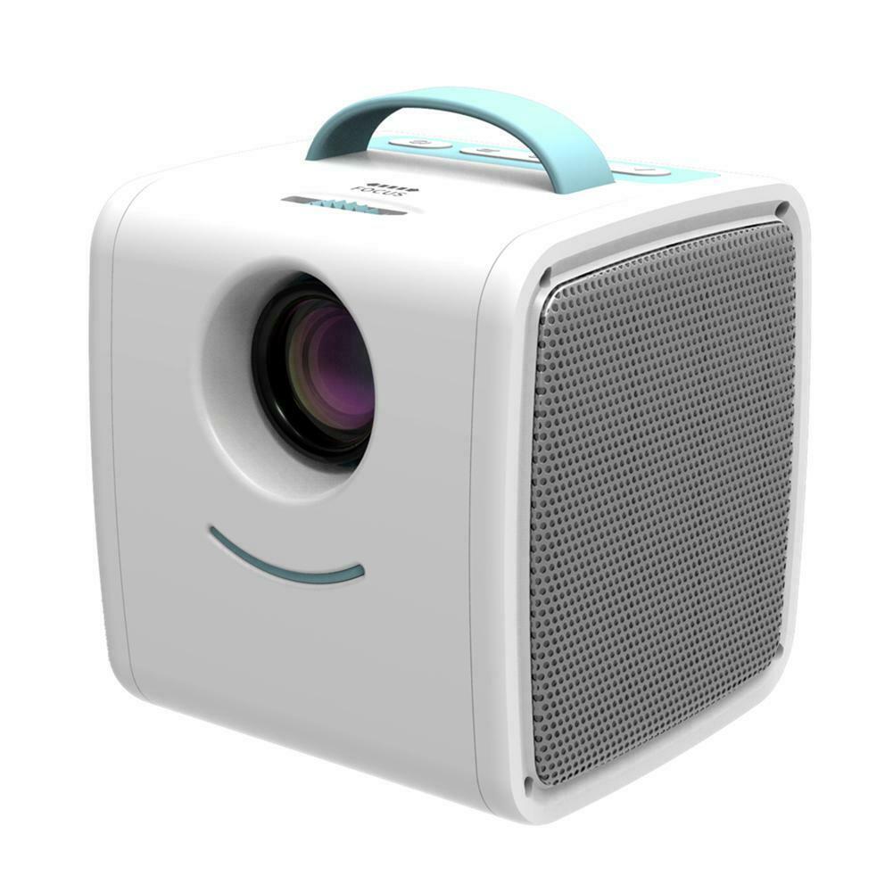 Дитячий міні портативний проектор Q2 Kids Story Projector Blue