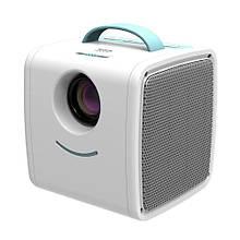 Детский мини портативный проектор Q2 Kids Story Projector Blue