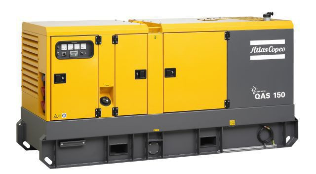 Дизельная электростанция (генератор) Atlas Copco QAS 150