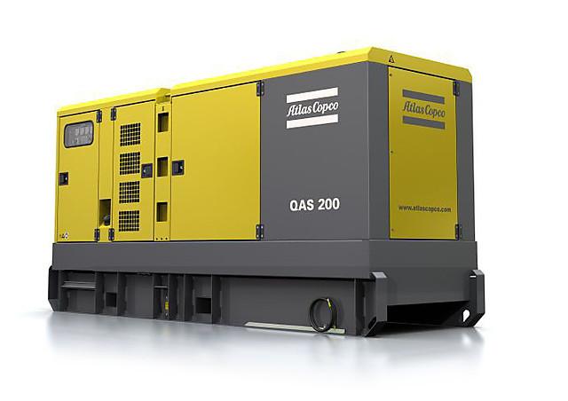 Дизельная электростанция (генератор) Atlas Copco QAS 200
