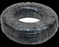 Телефонный кабель 4-х жильный бухта 100 метров черный