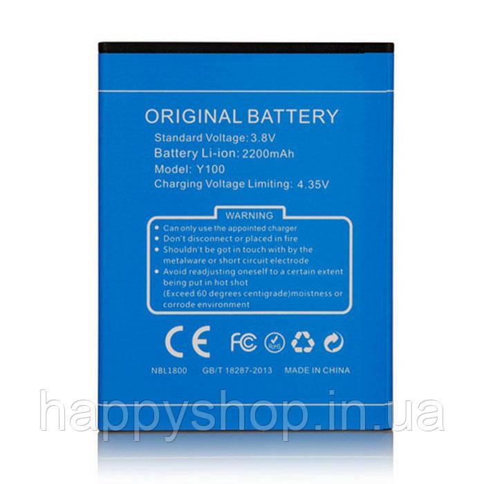 Оригинальная батарея Doogee Valencia 2 Y100/Y100 Pro