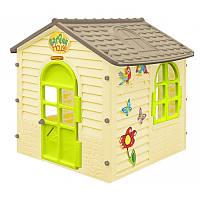 Детский игровой домик Mochtoys №03A  (Игровой домик для улицы и дома)