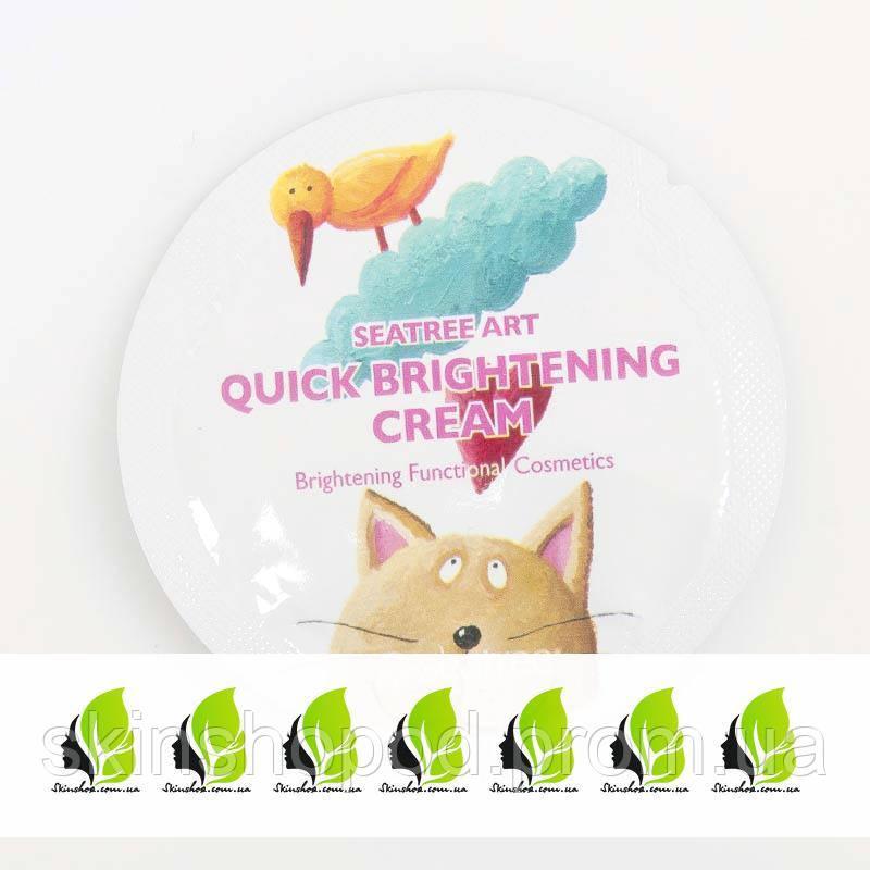 Пробник крема для лица с эффектом осветления Art Quick Brightening Cream SeaNtree