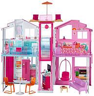 Кукольный домик Mattel Barbie Townhouse Городской дом мечты Малибу (DLY32)
