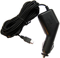 Автомобильная зарядка для видеорегистратора от прикуривателя на 2А