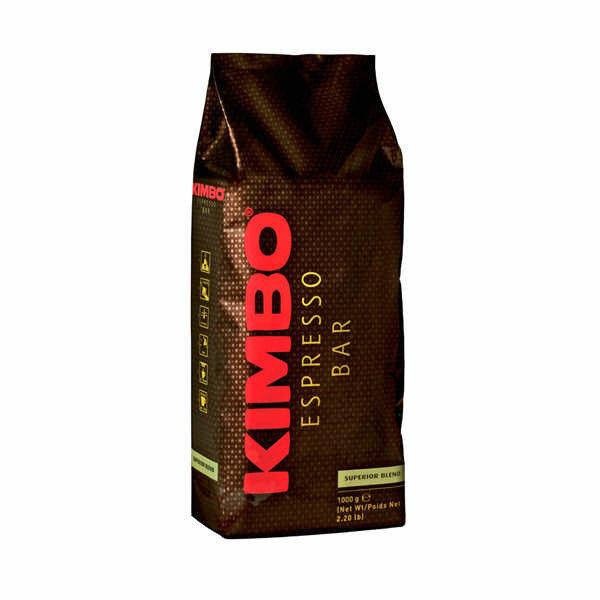 Кофе в зернах KIMBO Espresso Superior Blend 90\10, 1кг. Италия