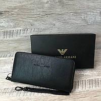 Мужской стильный кошелек Armani, фото 1
