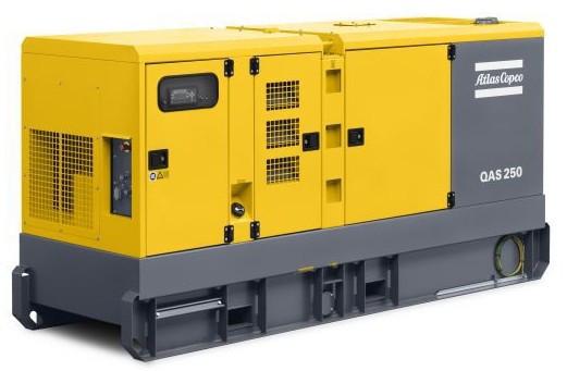 Дизельная электростанция (генератор) Atlas Copco QAS 250