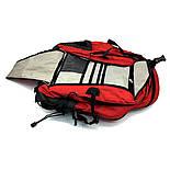Городской рюкзак The North Face Surge 33L красного цвета с отделением для ноутбука, фото 4