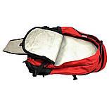 Городской рюкзак The North Face Surge 33L красного цвета с отделением для ноутбука, фото 5