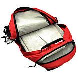 Городской рюкзак The North Face Surge 33L красного цвета с отделением для ноутбука, фото 6