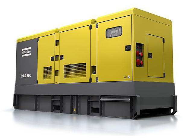 Дизельная электростанция (генератор) Atlas Copco QAS 500