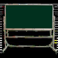 Доска магнитная, поворотная, мобильная — 2000Х1000 мм (на колёсах)