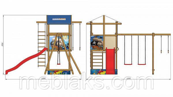 Детская  площадка   SportBaby-8 SportBaby , фото 2