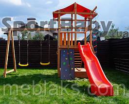 Деревянный игровой комплекс SportBaby , фото 2