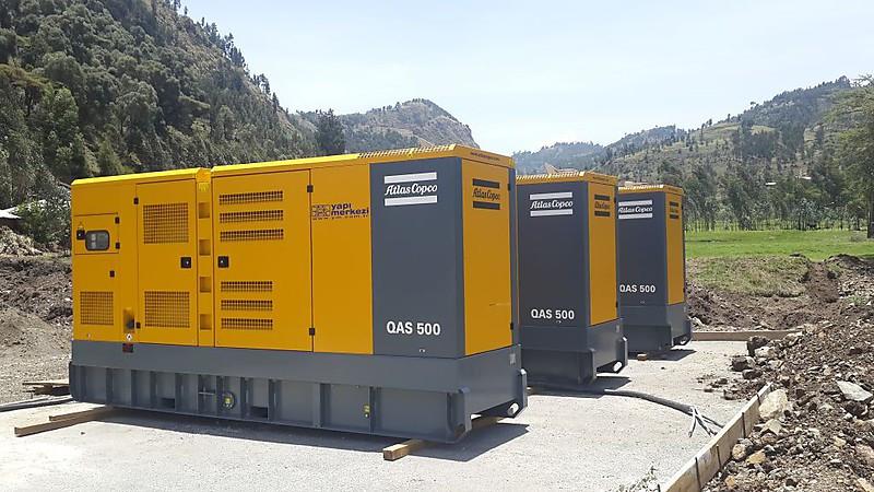 Дизельная электростанция (Генератор) Atlas Copco QAS 500Sd