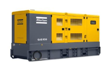 Дизельная электростанция (Генератор) Atlas Copco QAS 630