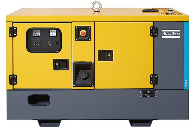 Дизельная электростанция (Генератор) Atlas Copco QES 9