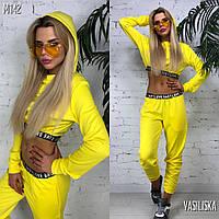 Женский спортивный костюм с брюками в расцветках. ВВ-4-0619