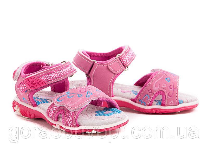 Самые комфортные босоножки - сандалии девочке, р.26 (16,4 см)